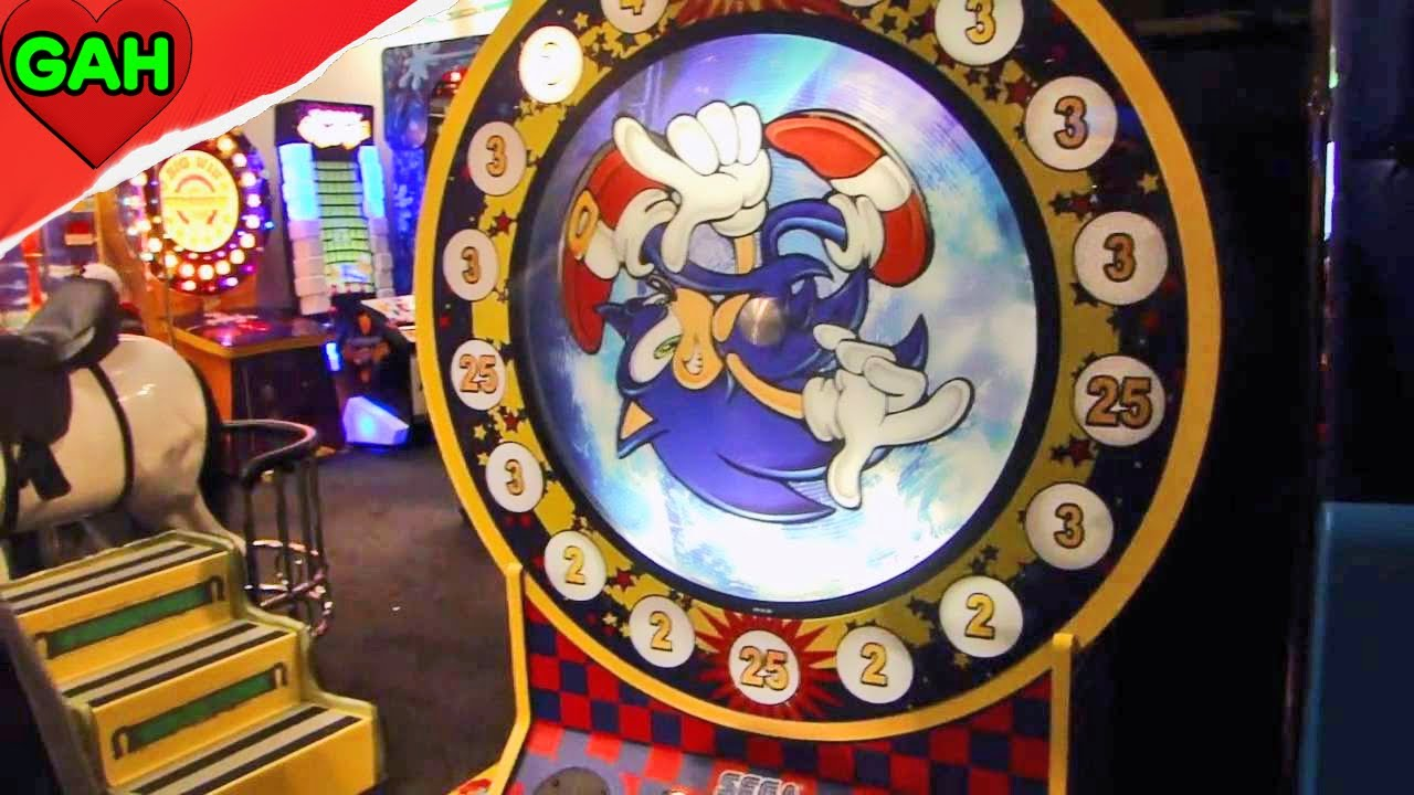 Chuck E Cheese Sonic Spinner Youtube