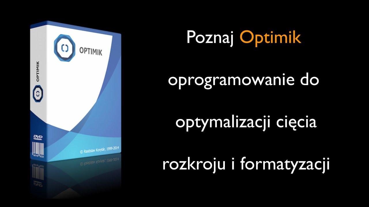 Optimik - Oprogramowanie do optymalizacji cięcia