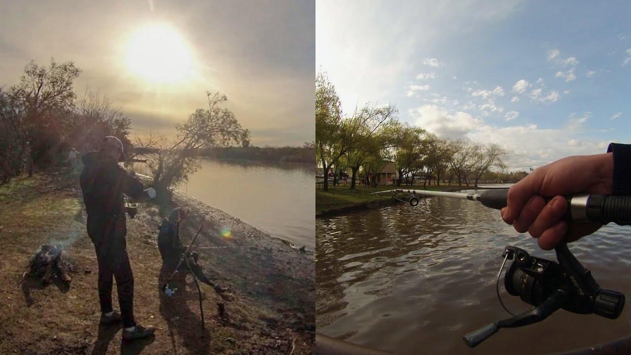 Dos días de Pesca - Pescando en varios lugares - manso y tranqui