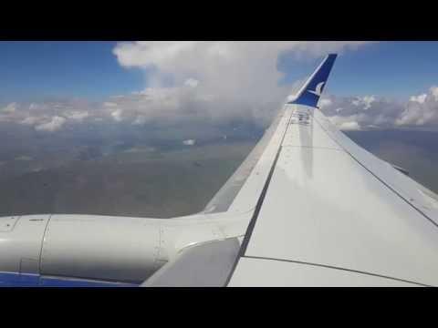 Takeoff from Erzurum Airport (ERZ) B737-800