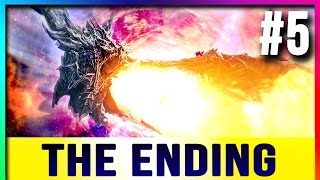 Skyrim Special Edition - Let's Play ENDING Walkthrough #5 (Alduin Boss Fight - Remastered SE)