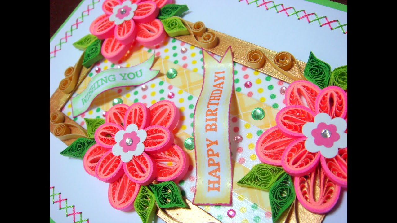 Seven flowers pop up birthday card youtube seven flowers pop up birthday card bookmarktalkfo Image collections