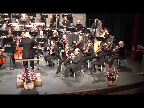 Highlights from West Side Story performed by the Muscatine Symphony Orchestra