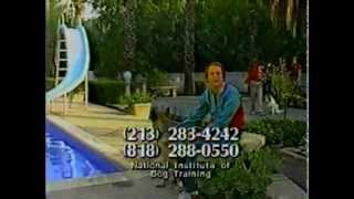 1985 National Institute Of Dog Training Commercial