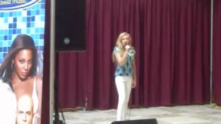 Adele Someone Like You cover by Mercedes Mitchell Search for a Star audition