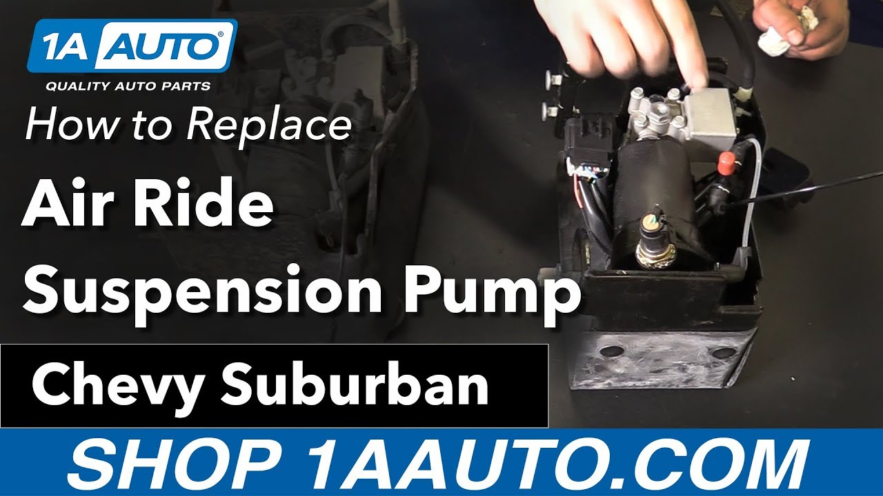 How to Install Air Suspension Pump with Bracket 07-13 Chevy Suburban