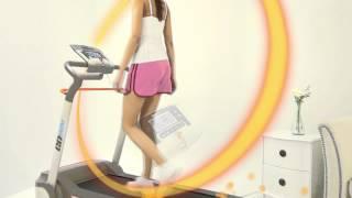 Esteira GoRun com Sistema IWM de Gerenciamento de Peso