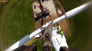 Northern Power 100kW Wind Turbine - Capture Energy Installation