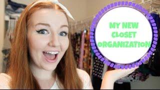 My New Closet Organization! Thumbnail