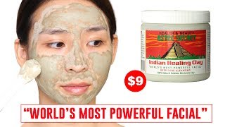 World's Most Powerful Facial - Tina Tries It