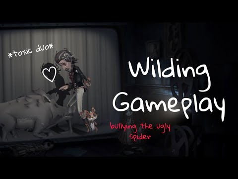 Most Toxic Duo☢️/ Wilding Gameplay 🐗 / Identity V
