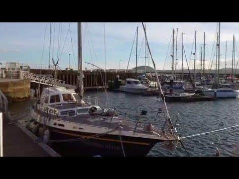 Praia da Vitória Marina Terceira Azores HD
