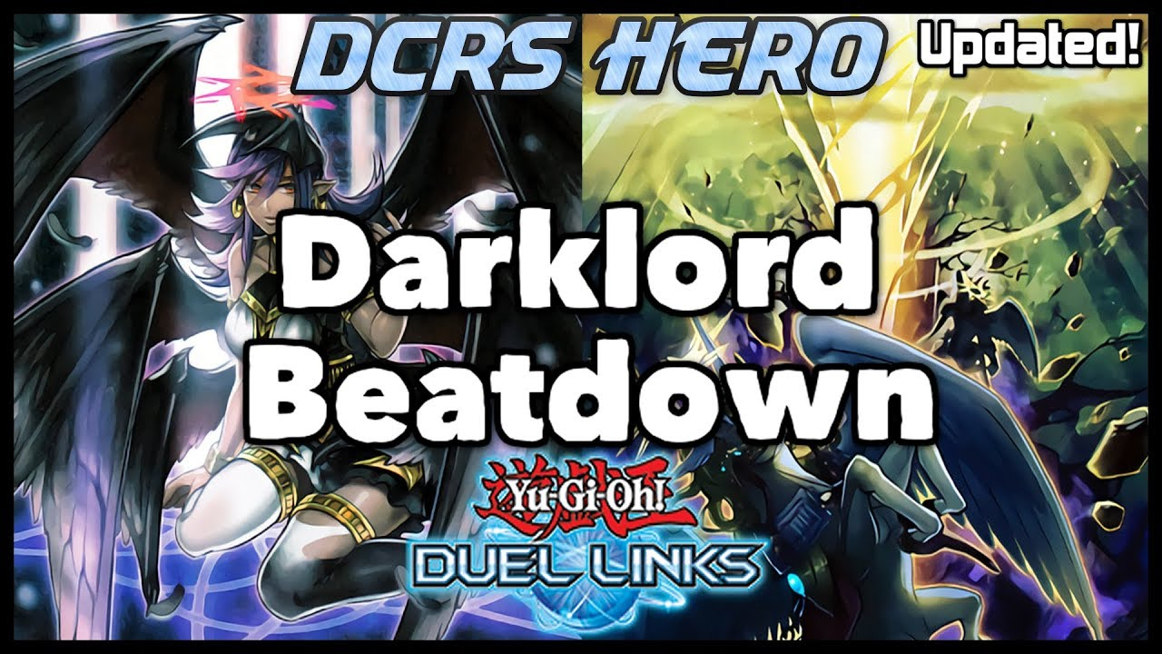[DUEL LINKS] Darklord Beatdown (UPDATED) - PVP Duels + Deck Profile