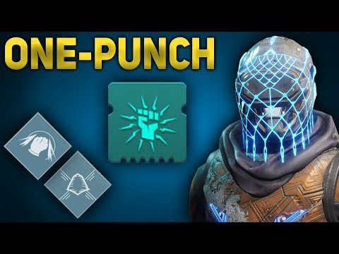 One-Punch Invis Warrior Arcstrider Hunter Build | Destiny 2 Shadowkeep