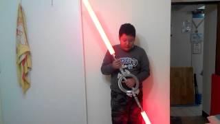 Star Wars Rebels The inquisitor lightsaber spinning mode ver.02