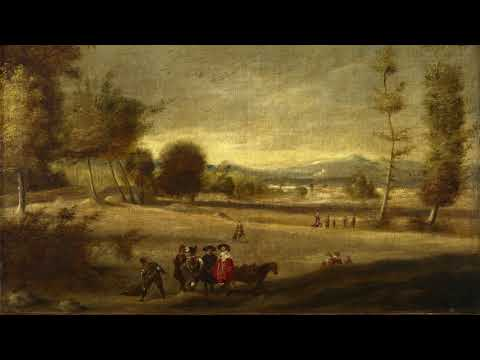 Gallery Paintings with Classical Music- Landscape with Figures HD