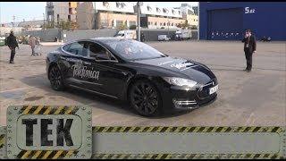 Tesla Motors y Telefónica presentan el coche eléctrico sin botones y conectado a Internet