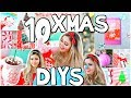 10 Christmas DIYs! Decorations, Gifts Ideas & Crafts! CHRISTMAS 2018