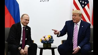 Donald Trump 'tells' Putin not to interfere with election