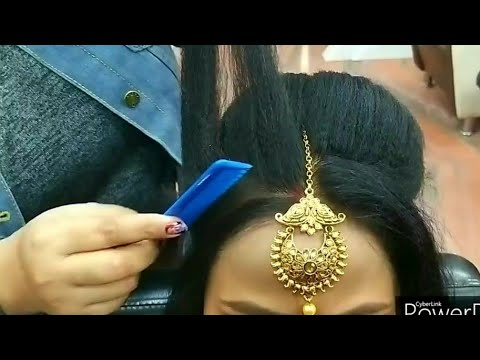 real-party-&-weddings-hairstyle-for-beginners//-step-by-step-easy-and-simple-method-#khushimakeovers