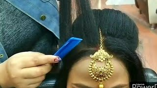 Baixar Real party & weddings hairstyle for beginners// step by step easy and simple method #Khushimakeovers