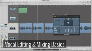 Vocal Editing & Mixing in Logic Pro