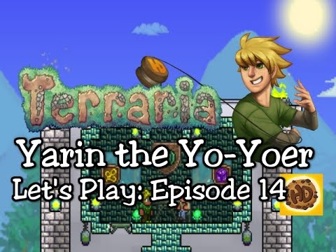 Terraria 1.3 Yoyo Let's Play Part 14: Unicorns, Armors, & Yoyos! (1.3 expert playthrough)