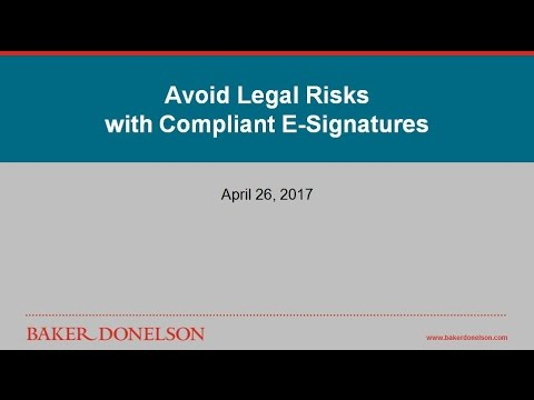 Avoid Legal Risks with Compliant E-Signatures