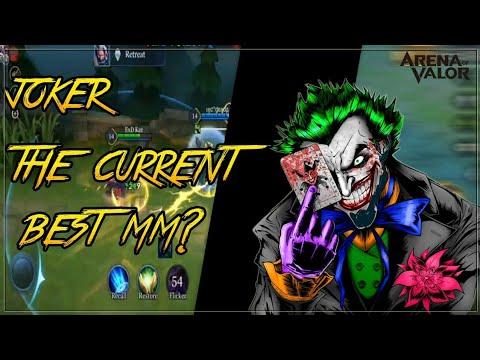 JOKER THE CURRENT BEST MM?! ExD Kaz Joker Gameplay | Arena of Valor India