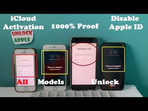 Unlock ICloud Activation Lock 2019✔ Remove/Bypass ICloud Account All Model IPhone/iPad 1000% Success