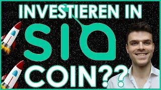 Ist es zu SPÄT um in Siacoin zu investieren ?? | Coin Vorstellung Kryptowährungen 2018