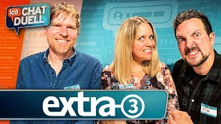 Chat Duell #77 | extra 3 gegen Simon, Sofia & Moritz
