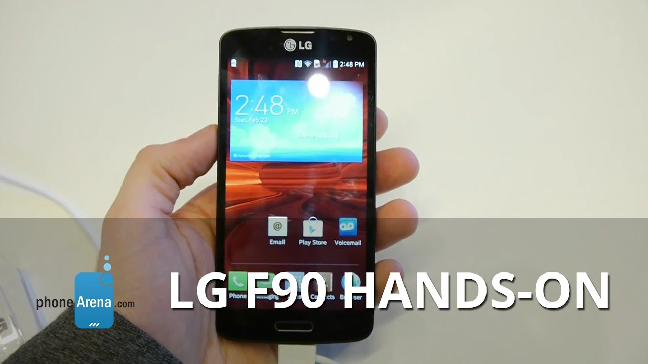 LG F90 hands-on