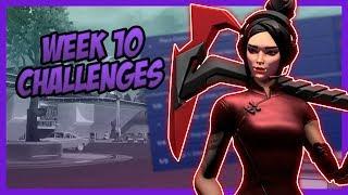 SEASON 9, Week 10 *LEAKED* Challenges - Fortnite Battle Royale