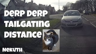 Tailgating Distance from the Rear Camera