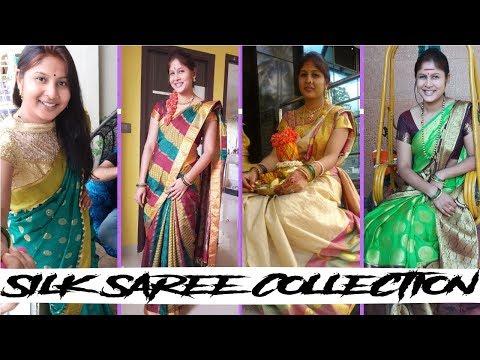 ನನ್ನ ರೇಷ್ಮೆ ಸೀರೆ ಕಲೆಕ್ಷನ್  I My Silk Saree Collection I Kannada Vlogs