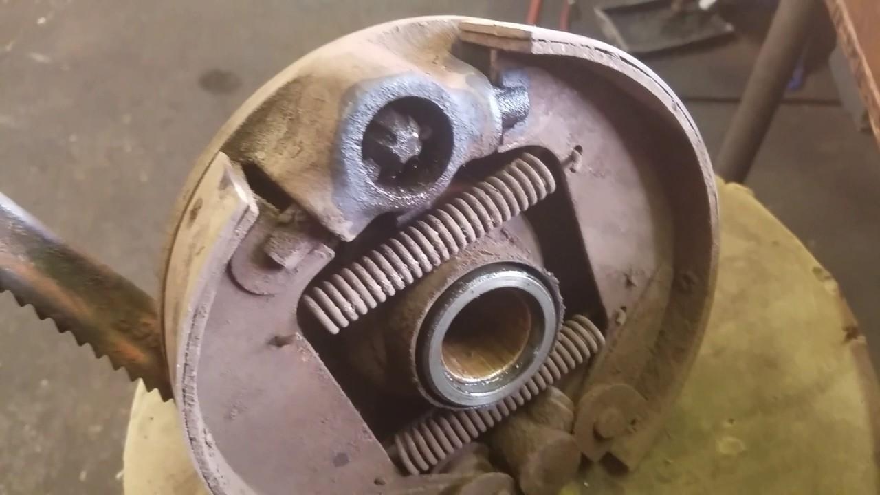 1943 John Deere B Brake Repair