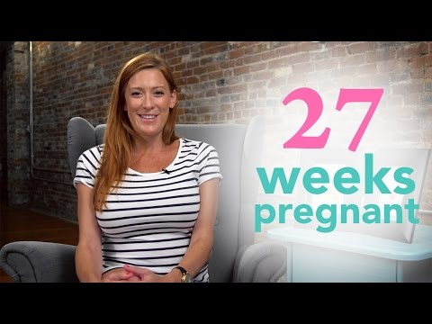27 Weeks Pregnant Ovia Pregnancy