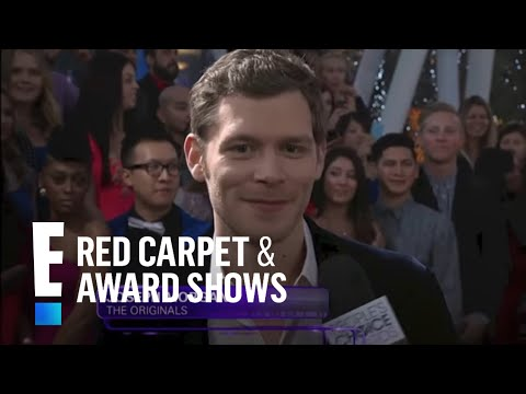 Joseph Morgan Wins on the Red Carpet