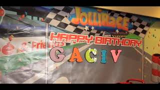 Gaciv Cael 2nd Birthday