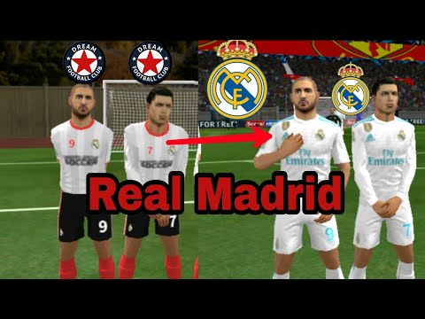 How To Create Real Madrid Kits & Logo 2020-21 | Dream League Soccer 2020.