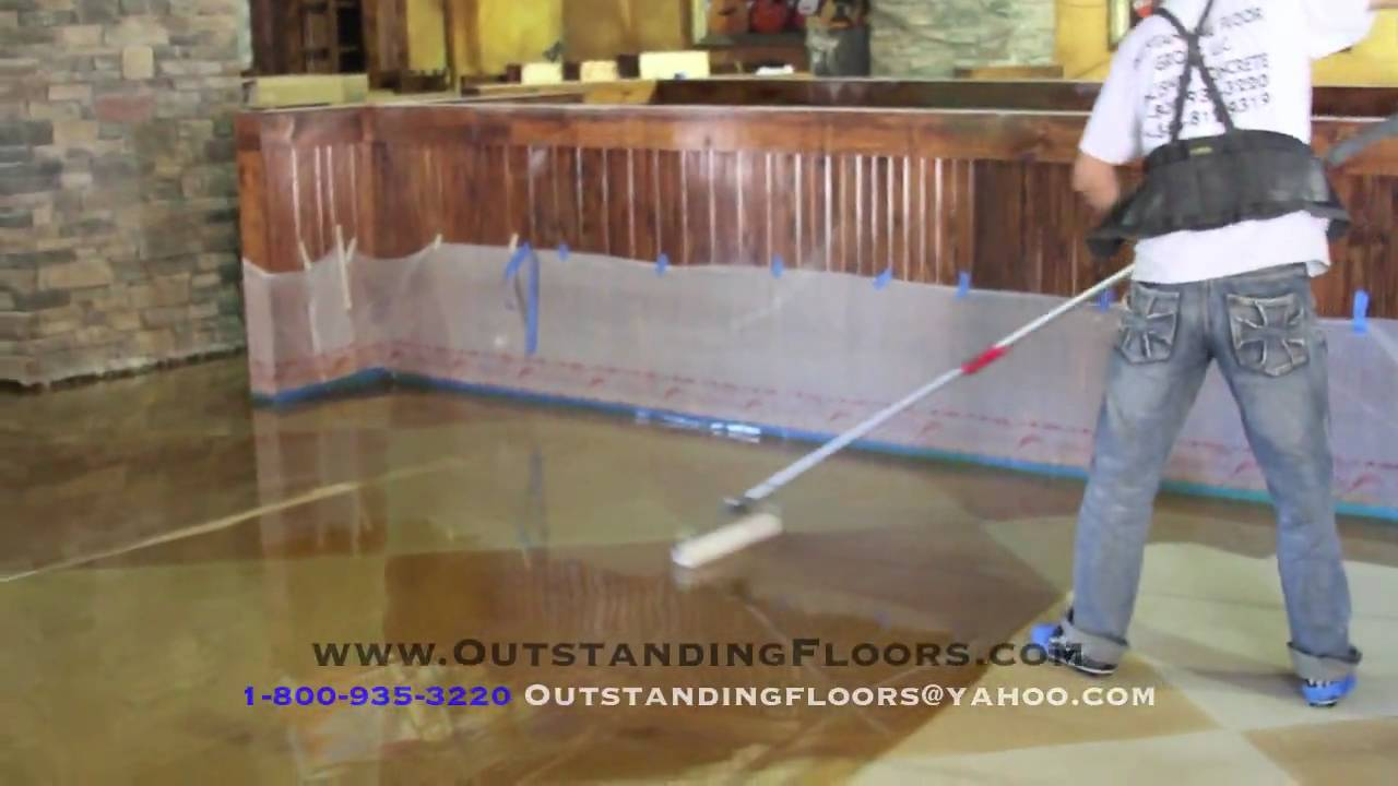 Decorative Concrete Epoxy Floors