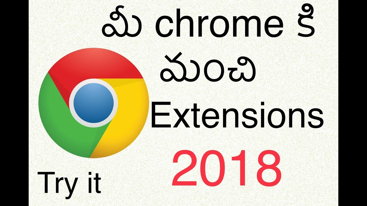 Top 5 Best Chrome Extensions in 2018 ||Chrome Web Store - Extensions 2018  in Telugu || Narsimha