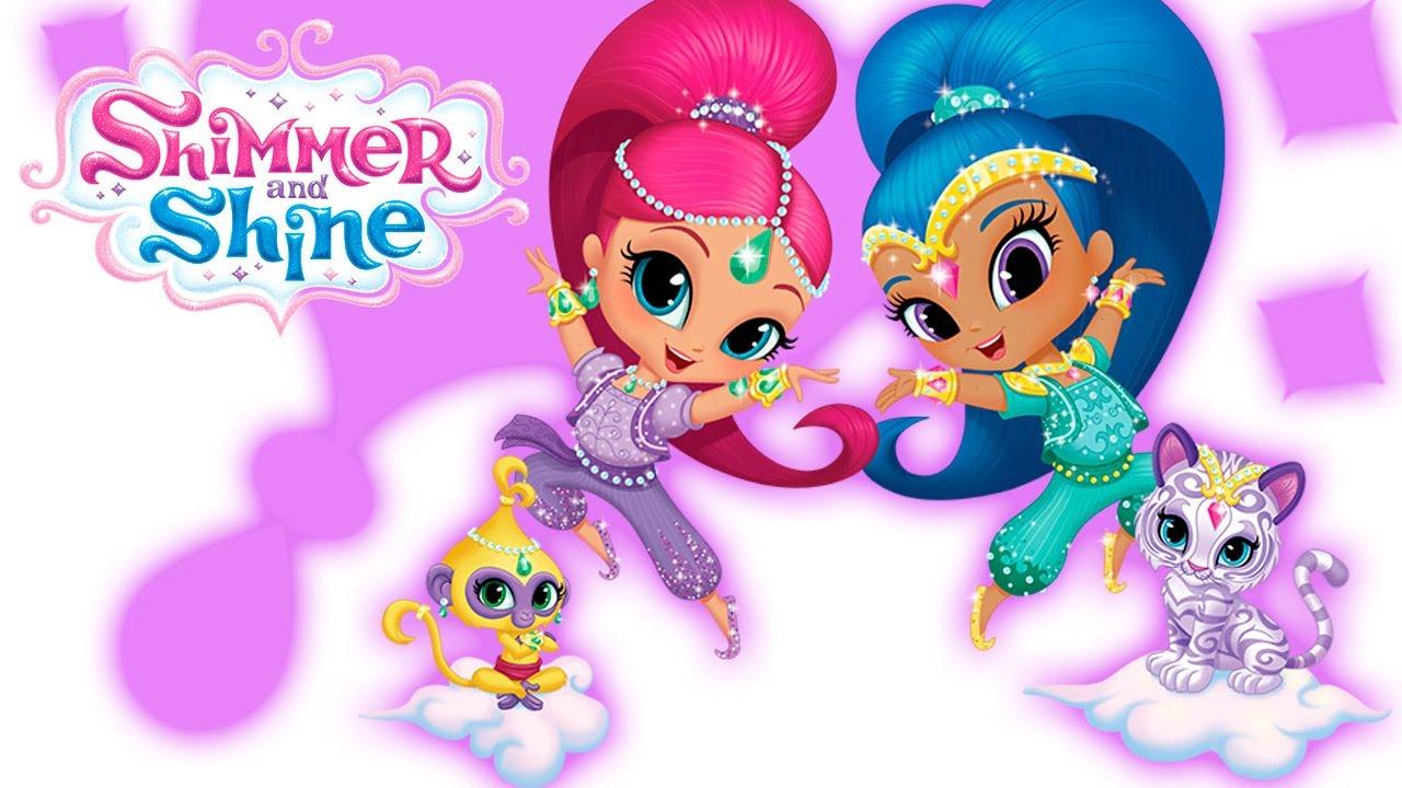 Shimmer and shine season 1 two little princess cartoon - Sparkle and shine cartoon ...