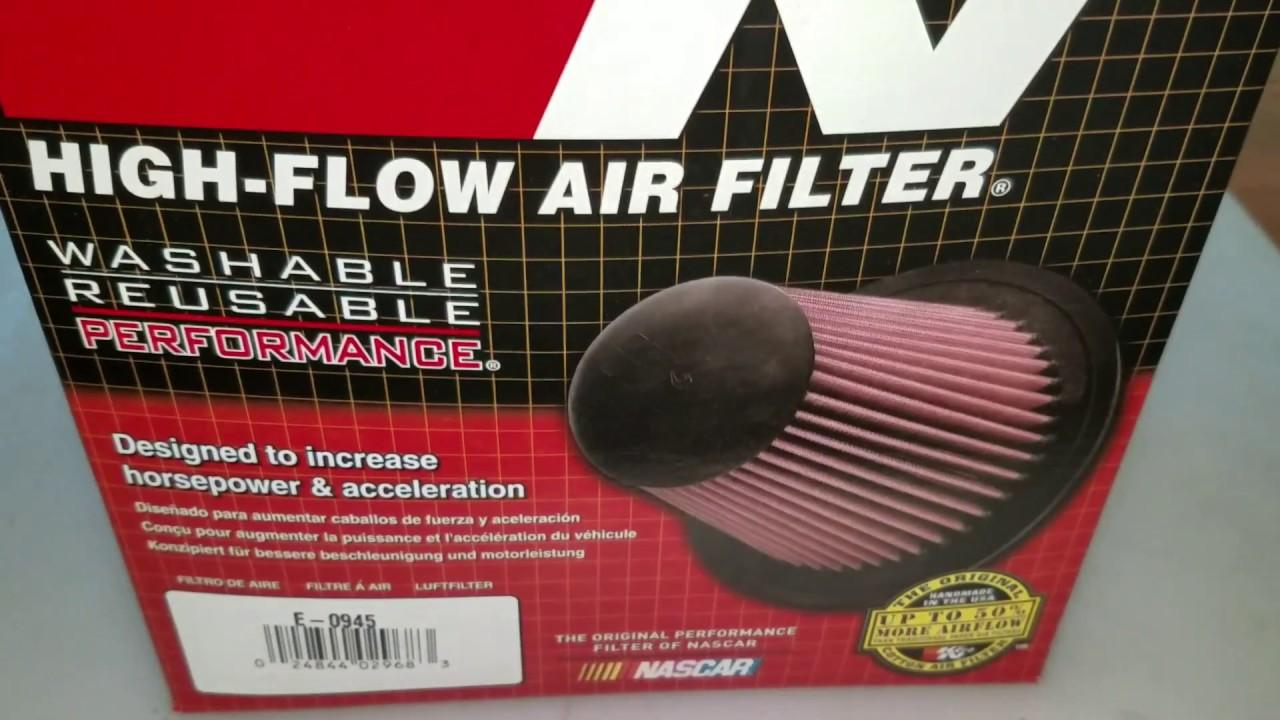 Kn Air Filter E 0945 Replacement High Flow Filtration