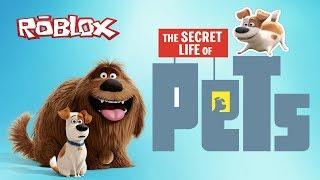 Приключения СОБАКИ МАКСА из Мультика Секретная Жизнь Домашних Животных в ROBLOX