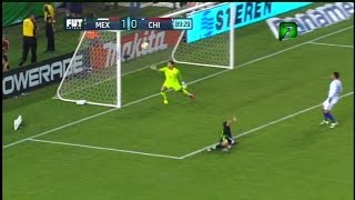 MEXICO VS CHILE 1 - 0   1 JUNIO 2016 Resumen