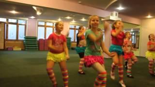 Репетиция нового танца группы ДЕТСКИЙ ФИТНЕС в Fitness Life!