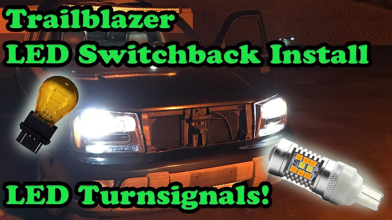 Trailblazer Led Turnsignals How To Switchback Blinkers 3757ck 3157