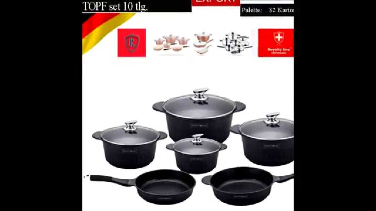 royalty line set  SWISSERLAND SWITZERLAND ROYALTY LINE SWISS KNIFE PAN - YouTube